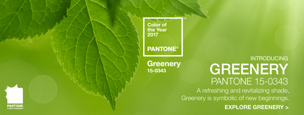 Pantone Color Of The Year 2017 Greenery 15 0343